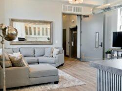 gray sectional sofa