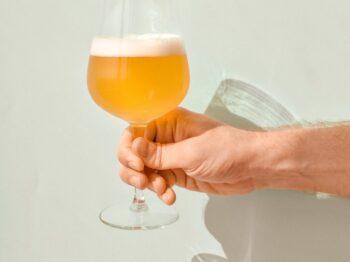 long-stem wine glass