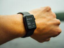 space gray aluminum case Apple watch