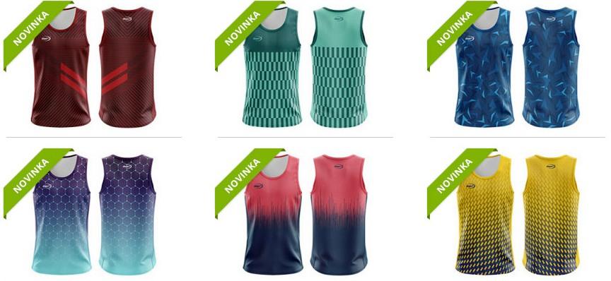 Pánské běžecké dresy